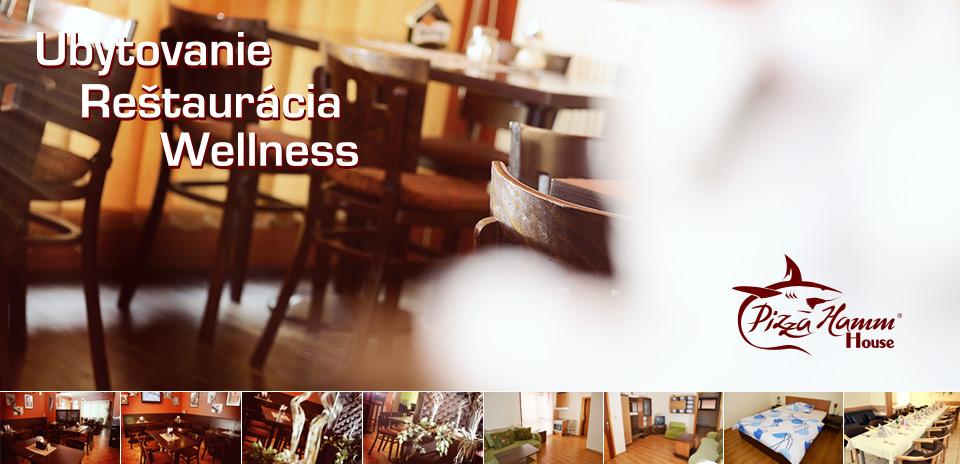 House Hamm - Ubytovanie, reštaurácia, wellness Vranov nad Topľou